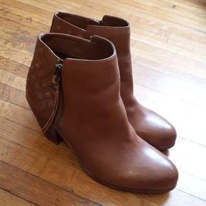 Shoes - Sam Edelman cognac booties